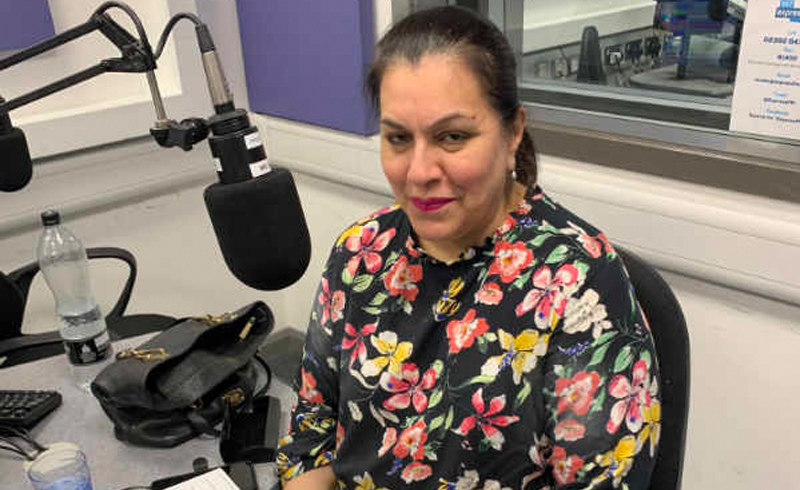 Mrs Laly Back on the Airwaves