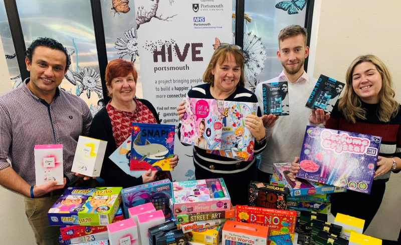 Lalys Pharmacy Joins 'Mission Christmas'