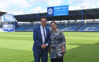 Pompey Extend Partnership With Lalys Pharmacy