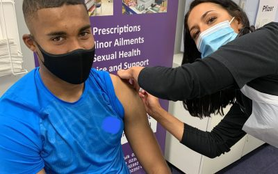 Pompey Players Get Vaccinated